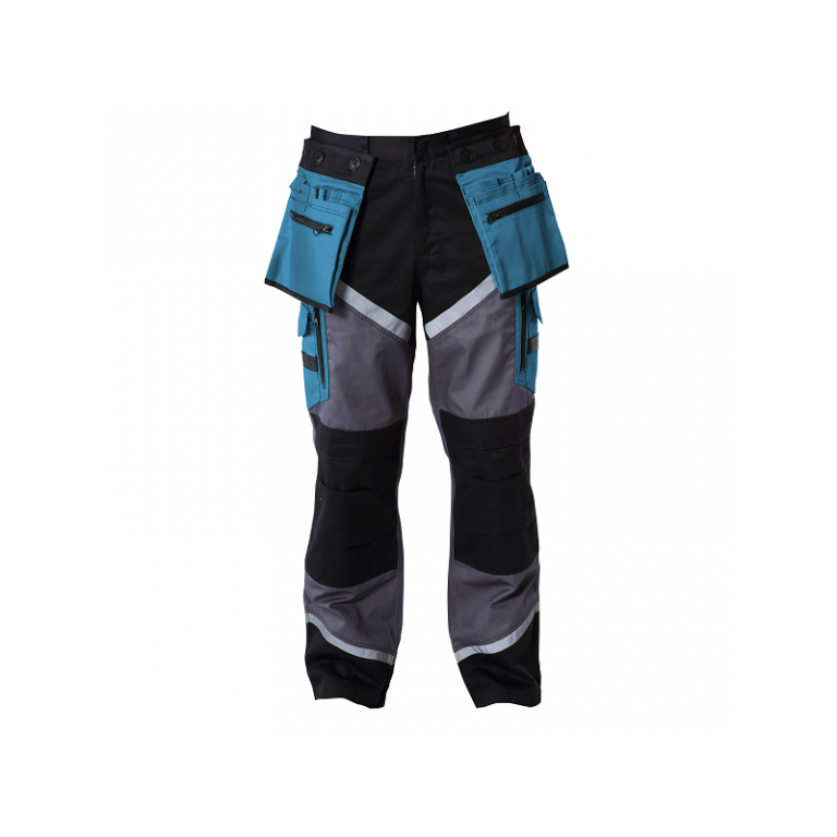 Spodnie robocze do pasa ochronne Lahti Pro L405050